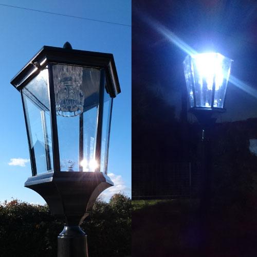 ソーラー庭園灯 STN-02