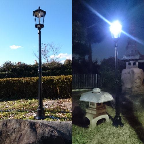 ソーラー庭園灯STN-02