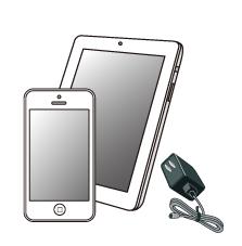 携帯・タブレット充電